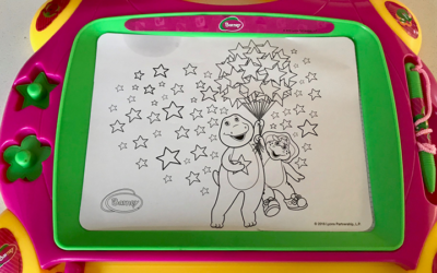 Barney Magnetic Board Review