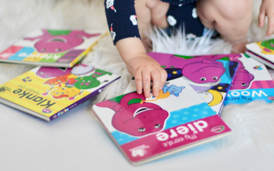 Barney Board Books Launch