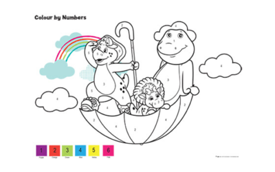 Barney Numbers Activity 2
