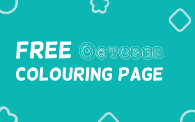 Free October Colouring Page