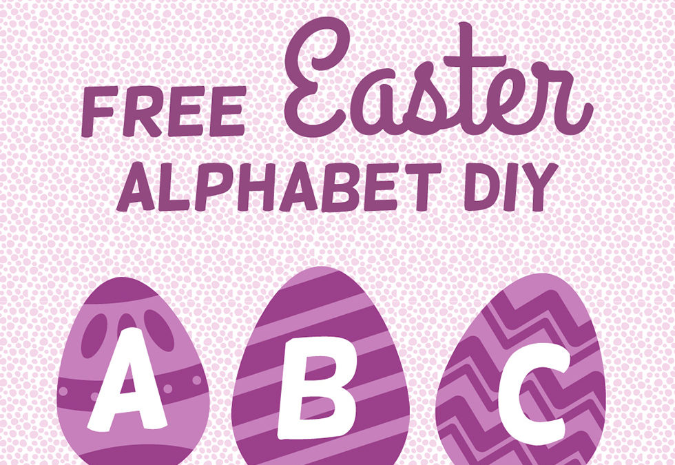 Free Easter Egg Hunt Alphabet Cards