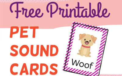 Free Pet Sounds Flash Cards