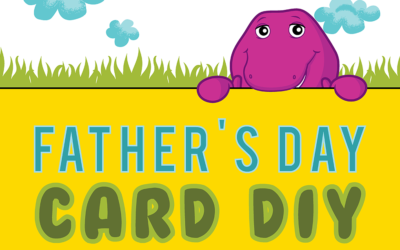 Free Father's Day Card DIY template