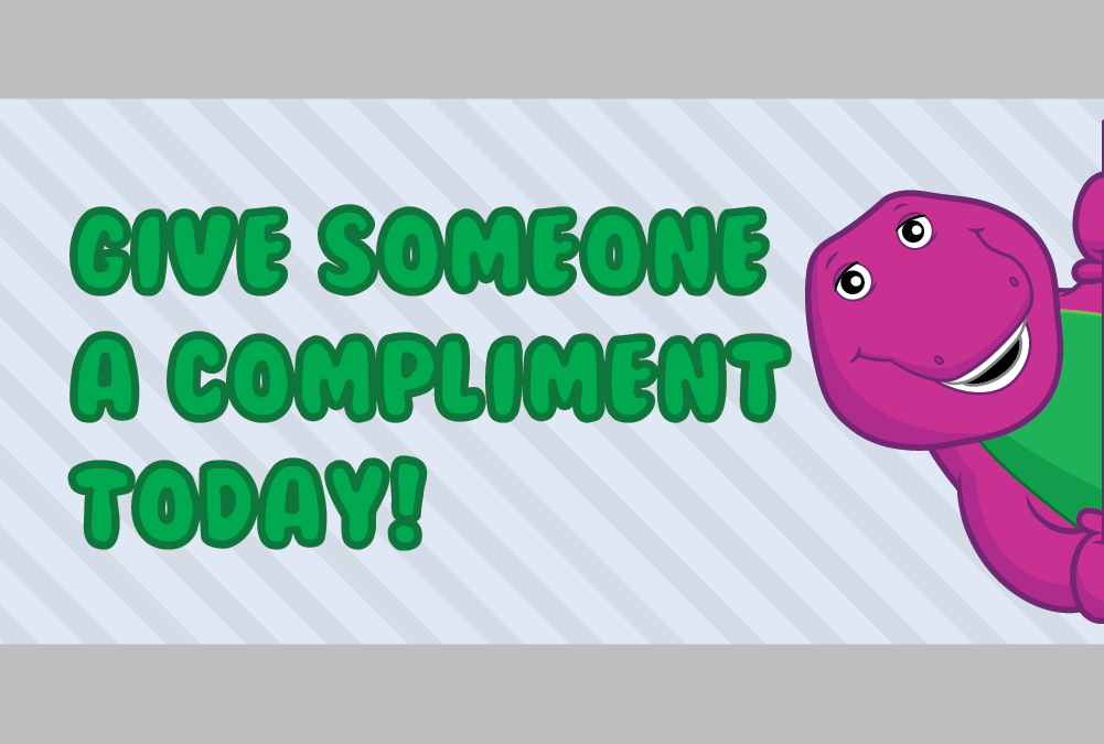 Compliment card
