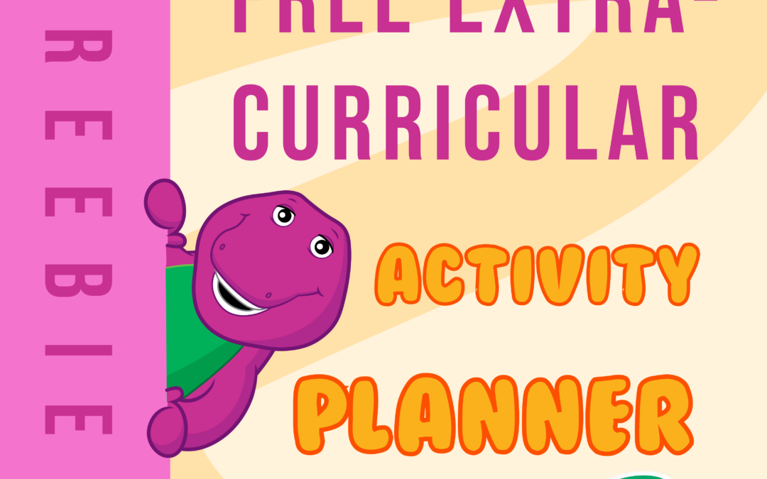 Free Extra Curricular Activity Planner