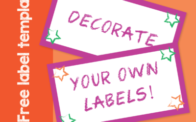 Free School Label Templates
