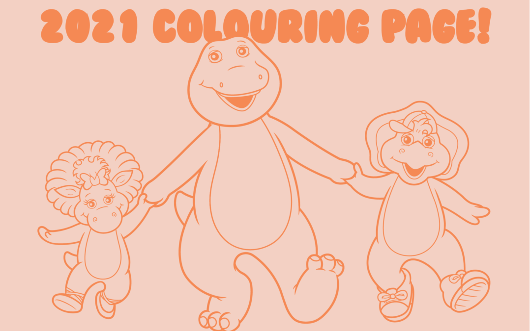 Free 2021 colouring page