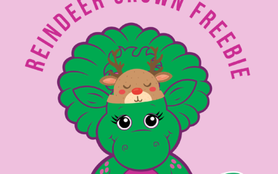 Free Reindeer Crown