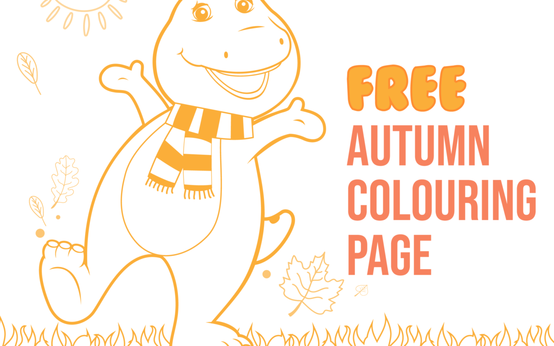 Free Autumn Colouring page