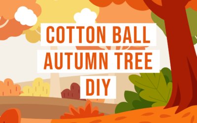 Free Autumn Cotton Ball DIY
