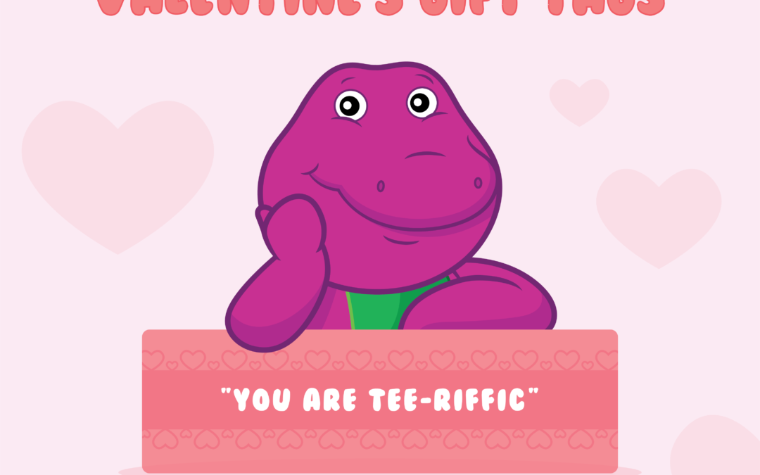 Free Valentine's Day Tags